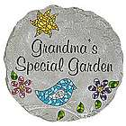 Large Personalized Mosaic Garden Stepping Stone