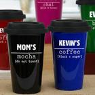 14-Ounce Personalized Travel Mug