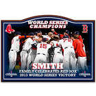 Boston Red Sox 2013 World Series Personalized Welcome Sign