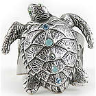 Adjustable Sea Turtle Ring