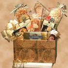 Large Classic Globe Gourmet Snacks Gift Box