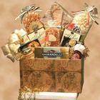 Large Classic Globe Gourmet Snacks Gift Box