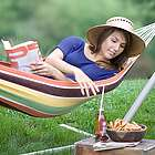 Easy Carry Canvas Hammock in a Bag
