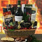 Sleigh Ride Wine Gift Basket