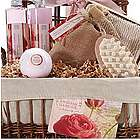 English Rose Garden Bath & Body Spa Basket