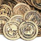 Deluxe Pirate Coins