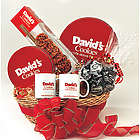 David's Cookies Deluxe Gift Basket