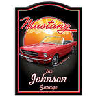 1964 Ford Mustang Personalized Wooden Welcome Sign