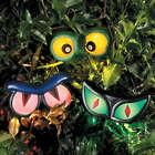 3 Haunted Hedge Eye Garden Decorations