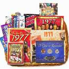 40th Birthday or 40th Anniversary Gift Basket with Coins for 1977