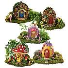 Fairy House Village Figurines