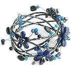 Garden Lapis Lazuli Wrap Bracelet