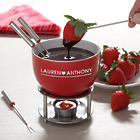 Warm Hearts Personalized Fondue Set