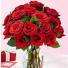 Two Dozen Red Roses Bouquet