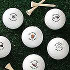 Groom's Last Round Personalized Nike Mojo Golf Balls