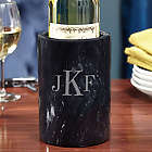 Classic Monogram Personalized Marble Wine Chiller