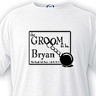 Personalized Groom to Be T-shirt