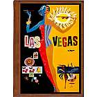 Las Vegas 2 Travel Art Handmade Leather Photo Album