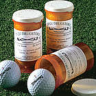 Personalized Par-Scription Golf Ball Set