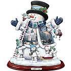 Snow Much Fun Together Tabletop Snowman Sculpture