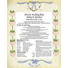 Wedding / Anniversary Keepsake Print
