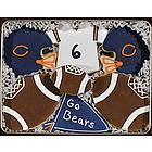 Go Bears Cookie Gift Tin