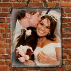 Picture Perfect Personalized Vertical Slate Plaque