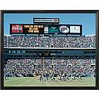 Carolina Panthers Personalized Scoreboard 16x20 Framed Canvas