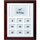 "50th Birthday 11x14"" Frame"