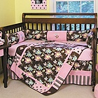 Blossoms Baby Crib Bedding Set