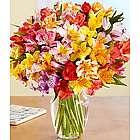 100 Blooms of Peruvian Lillies Bouquet