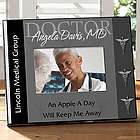Personalized 3 Color Doctor Picture Frame