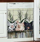 3 Pigs Magnetic Appliance Cover for Freezer/Small Dishwasher