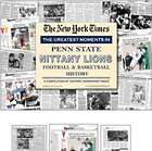 Greatest Moments of Penn State Lions Football & Basketball Book