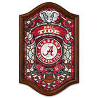 University of Alabama Illuminated Stained-Glass Wall Decor