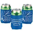 Personalized Let Love Brew Koozies