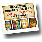 Personalized Dad's 4 Pack Hot Sauce Sampler