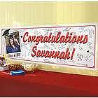 Personalized Graduation Signature Photo Banner