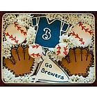 Go Brewers Sugar Cookie Gift Tin