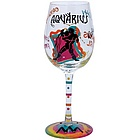 Aquarius Wine Glass