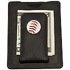 Boston Red Sox MLB Licensed Baseball Stitch Money Clip Wallet