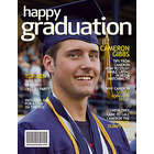 Personalized Graduation Magazine Cover