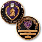 Purple Heart Personalized Keepsake Coin