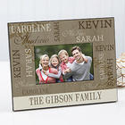 Personalized Our Loving Family Photo Frame