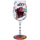 Aries Wine Glass