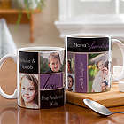 My Favorite Faces Photo White Handle Small Coffee Mug