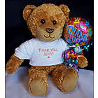Personalized Thank You Teddy Bear