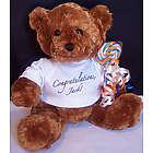 Personalized Congratulations Teddy Bear