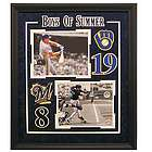 Ryan Braun and Robin Yount Limited Edition Brewers Framed Photos