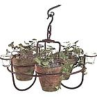 Hanging Flower Pot Chandelier